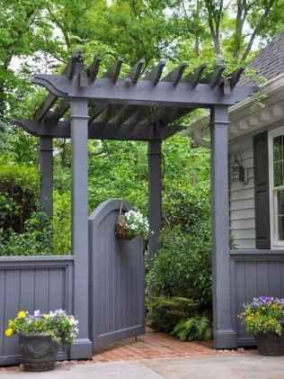 90 lovely backyard garden design ideas for summer (69)