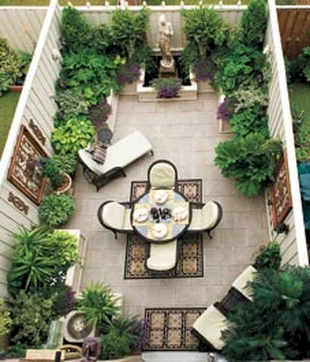 90 lovely backyard garden design ideas for summer (75)