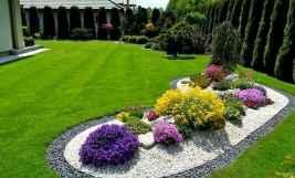 90 lovely backyard garden design ideas for summer (77)