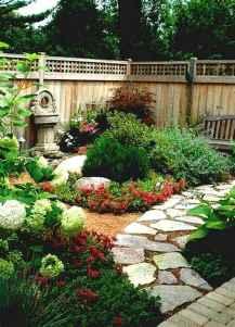 90 lovely backyard garden design ideas for summer (88)