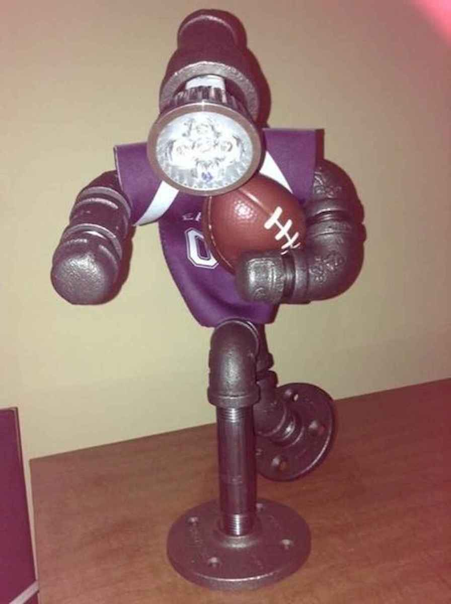 35 creative diy industrial pipe lamp design ideas robot to decor your home (2)