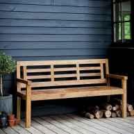40 cheap diy outdoor bench design ideas for backyard & frontyard (20)