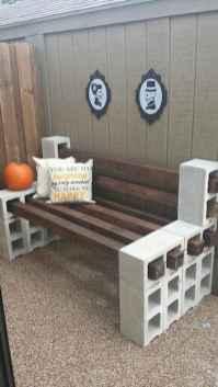 40 cheap diy outdoor bench design ideas for backyard & frontyard (22)