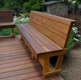 40 cheap diy outdoor bench design ideas for backyard & frontyard (26)