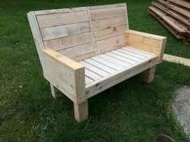 40 cheap diy outdoor bench design ideas for backyard & frontyard (27)