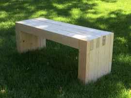 40 cheap diy outdoor bench design ideas for backyard & frontyard (34)