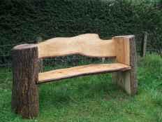 40 cheap diy outdoor bench design ideas for backyard & frontyard (38)