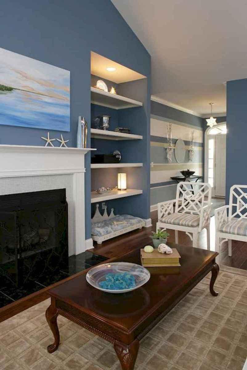 44 cozy coastal themed living room decor ideas that makes your home feels like beach (19)