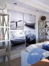 44 cozy coastal themed living room decor ideas that makes your home feels like beach (25)