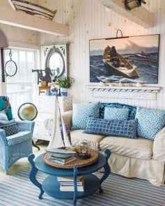 44 cozy coastal themed living room decor ideas that makes your home feels like beach (8)