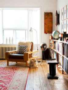 44 modern bohemian living room ideas for small apartment (22)
