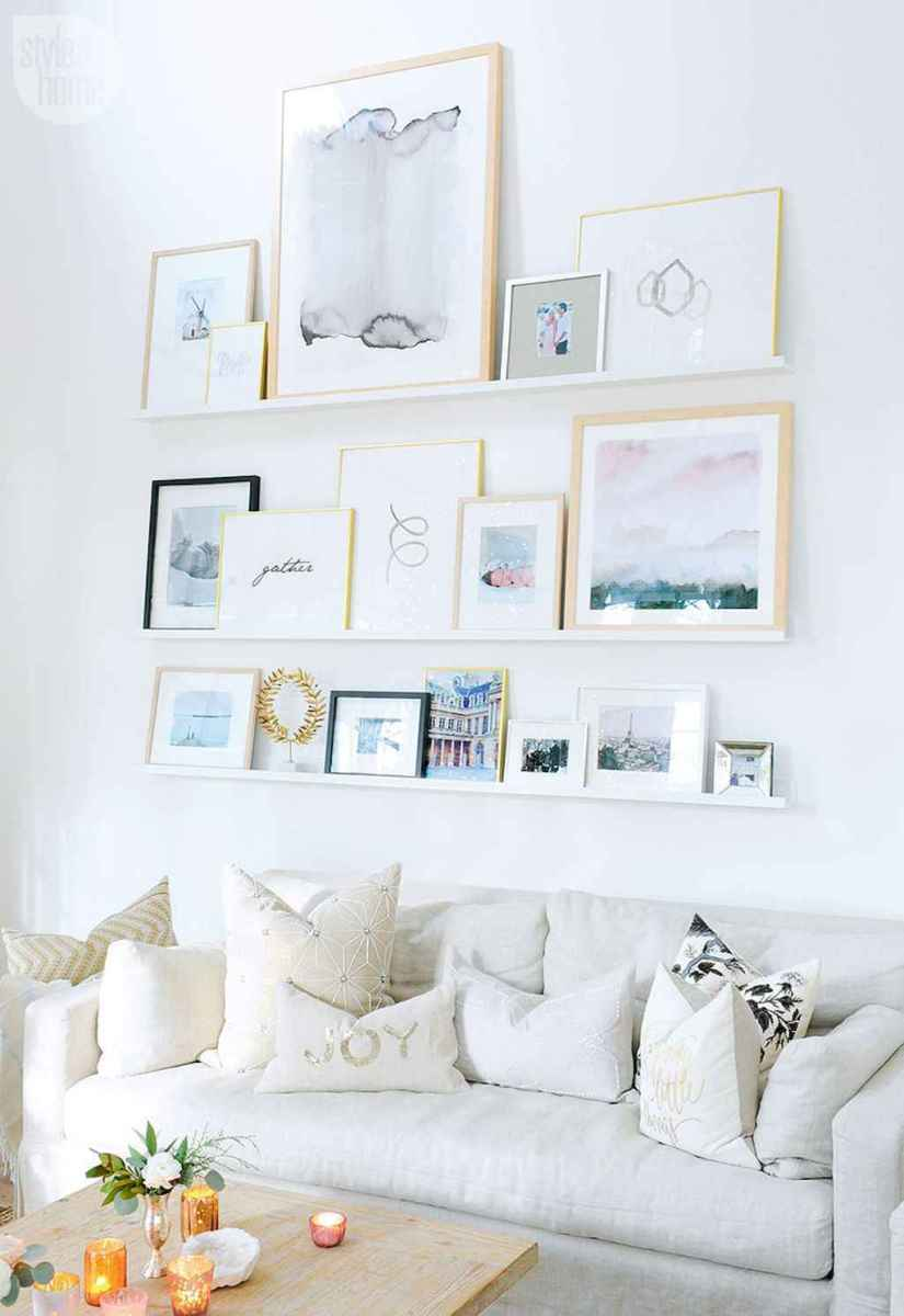 50 beautiful gallery wall ideas to show your photos (46)