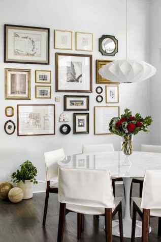 50 beautiful gallery wall ideas to show your photos (49)
