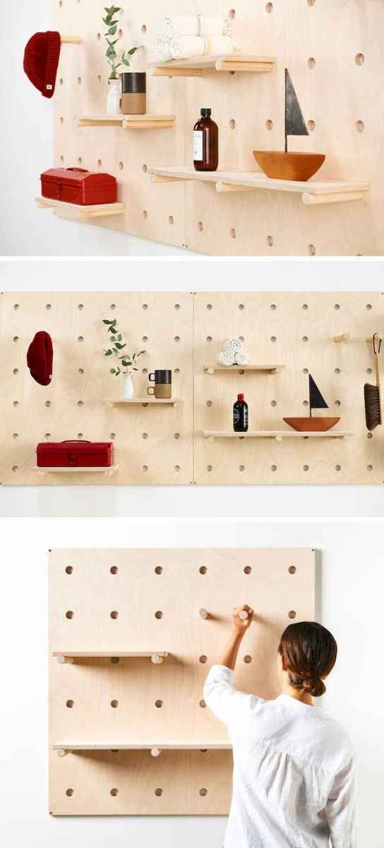 50 clever diy wood shelves ideas on a budget (28)