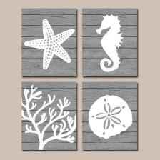 55 gorgeous beach themed bathroom design & decor ideas (29)