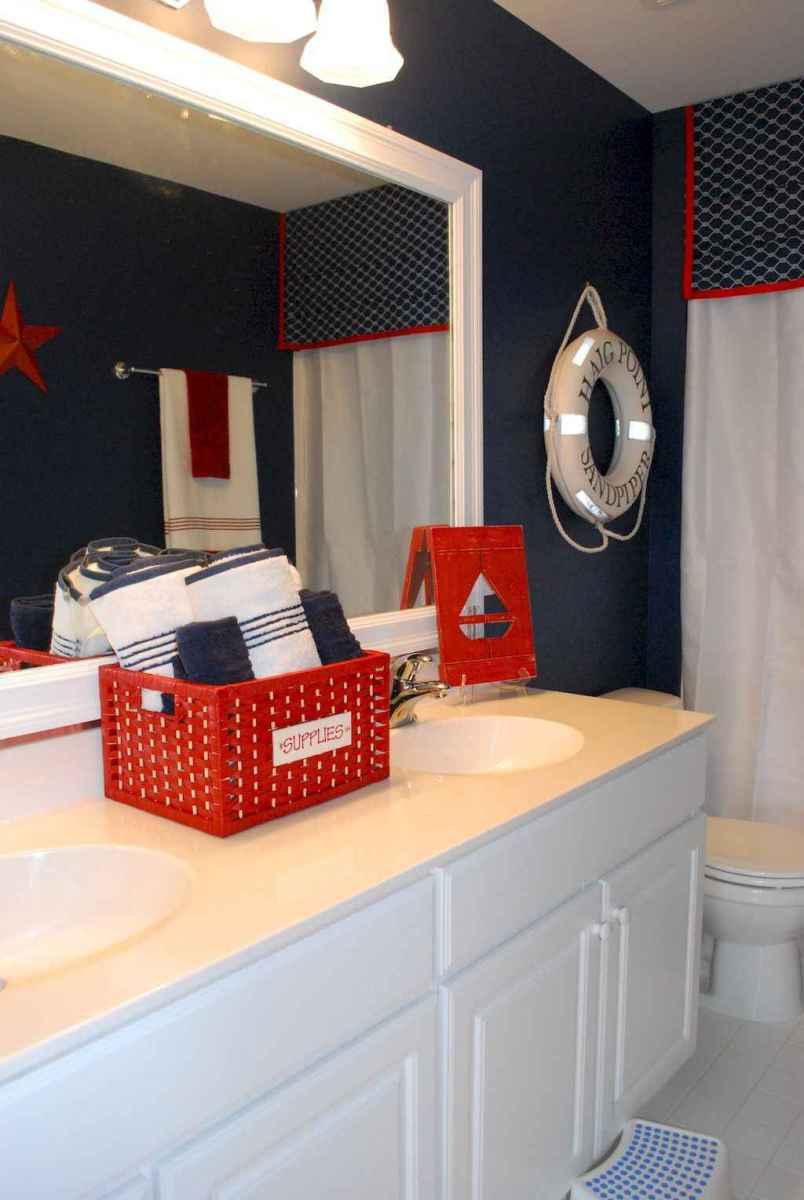 55 gorgeous beach themed bathroom design & decor ideas (30)