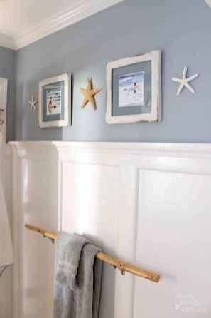 55 gorgeous beach themed bathroom design & decor ideas (45)