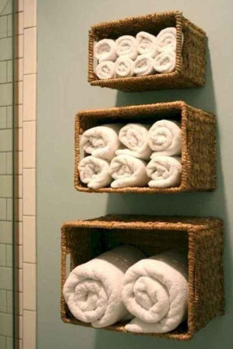 55 gorgeous beach themed bathroom design & decor ideas (49)