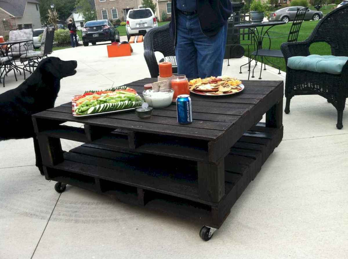 55 rustic outdoor patio table design ideas diy on a budget (32)