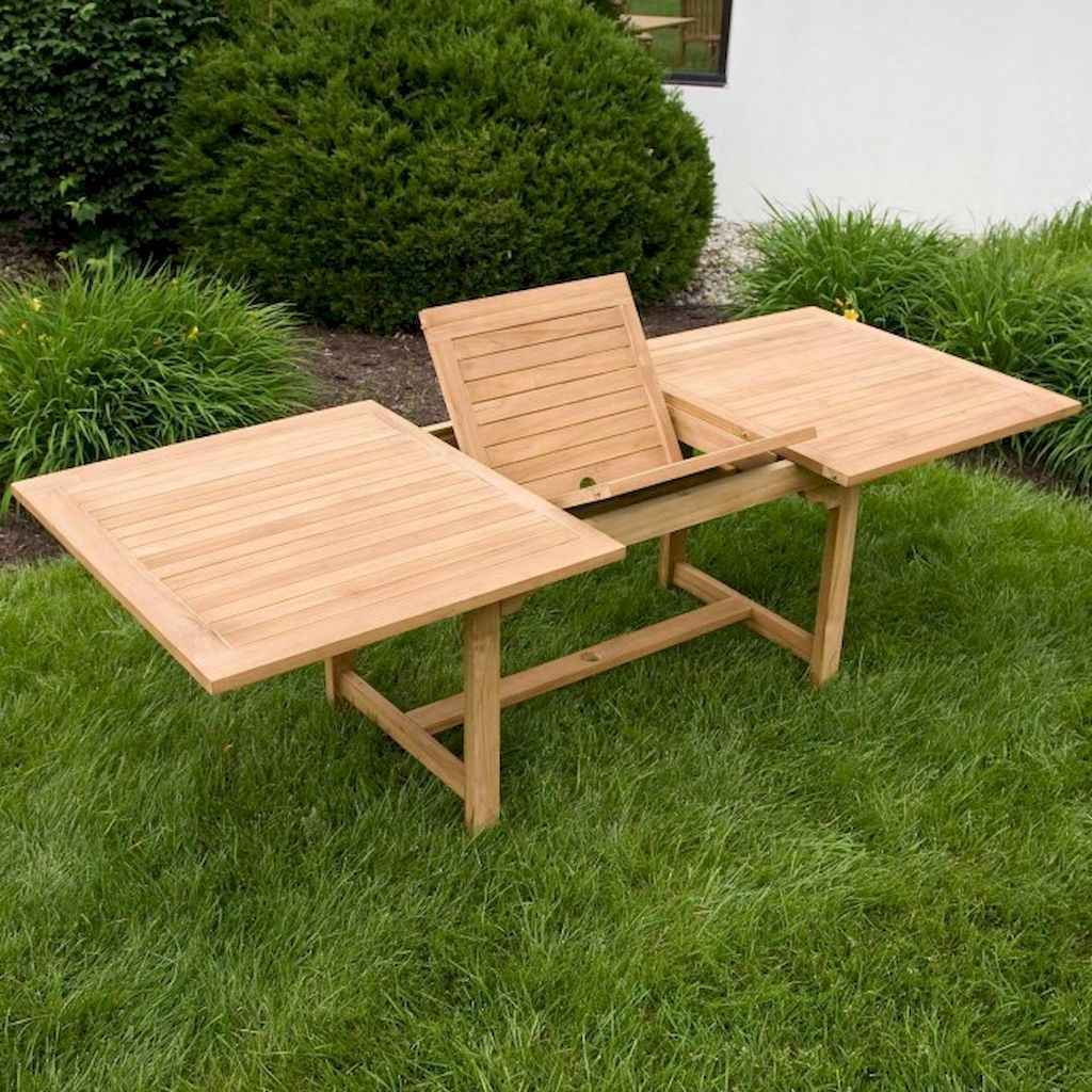 55 rustic outdoor patio table design ideas diy on a budget (41)