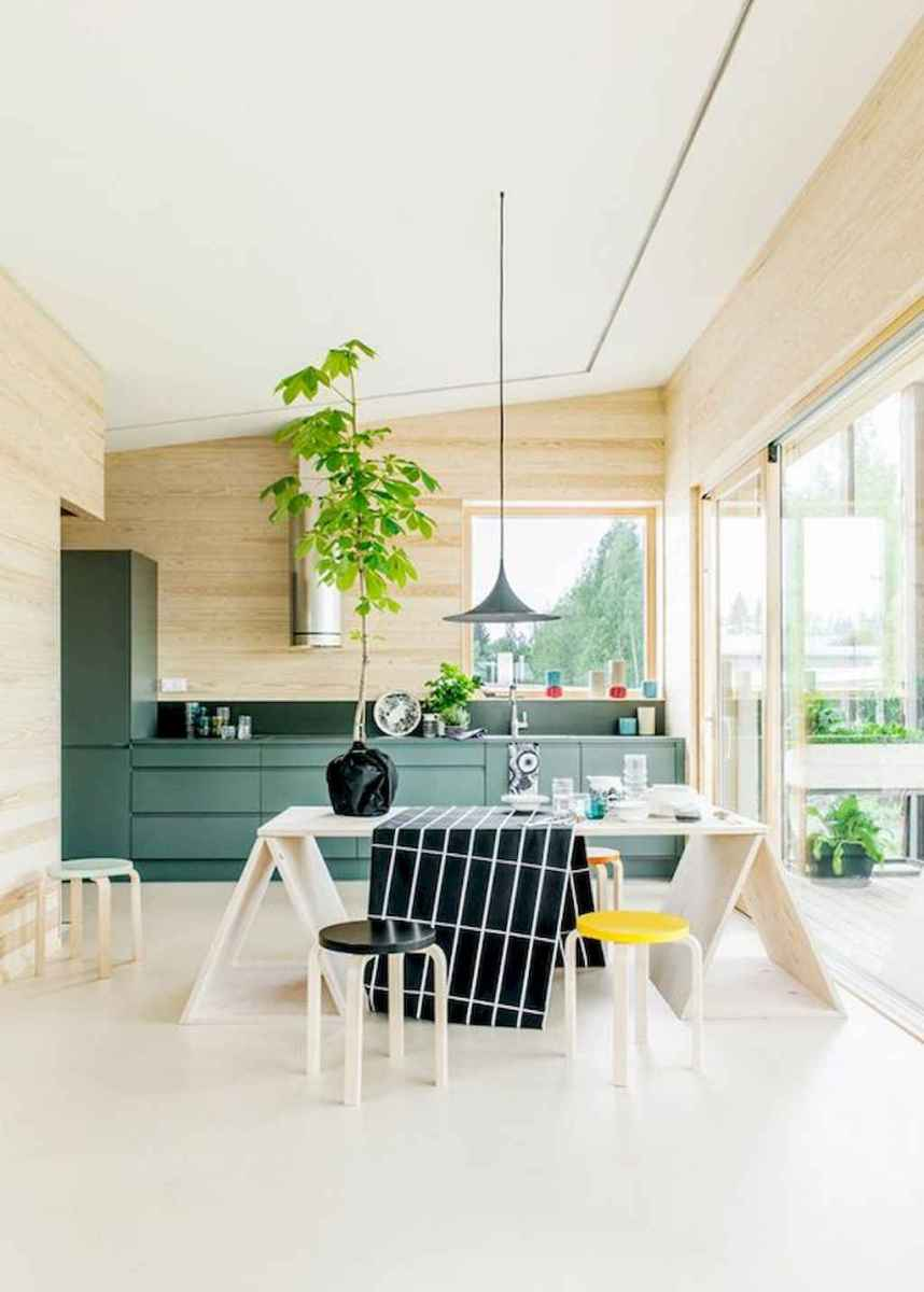 55 simple diy wooden dining table ideas that will inspire you (10)