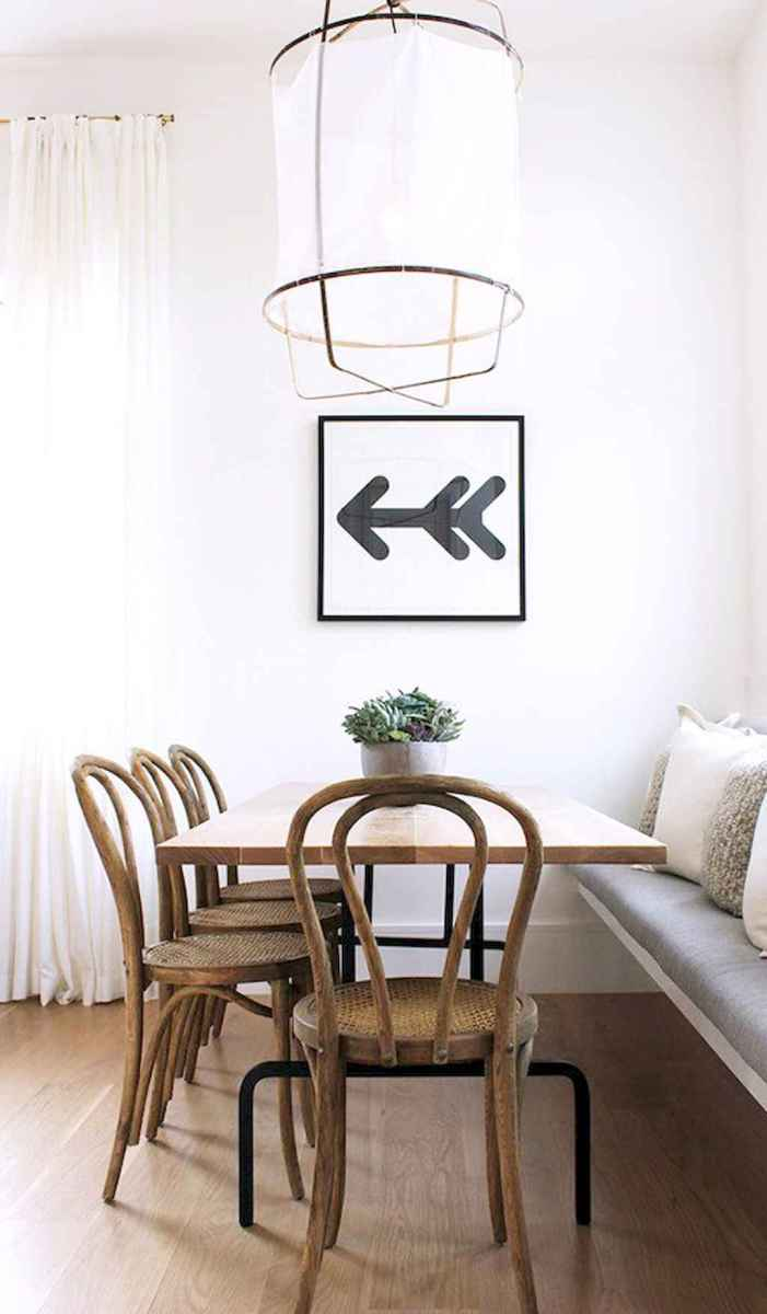 55 simple diy wooden dining table ideas that will inspire you (13)