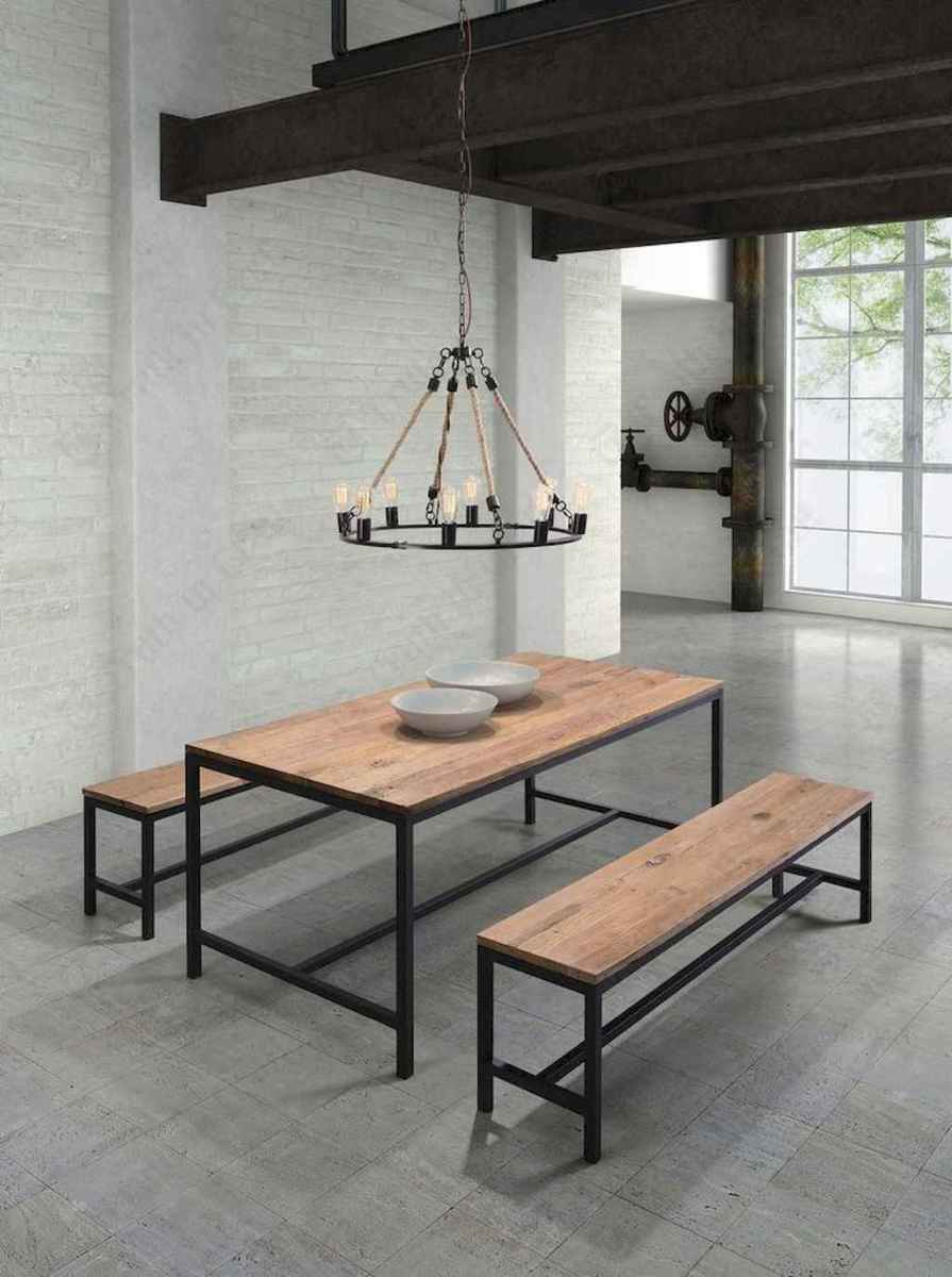 55 simple diy wooden dining table ideas that will inspire you (22)