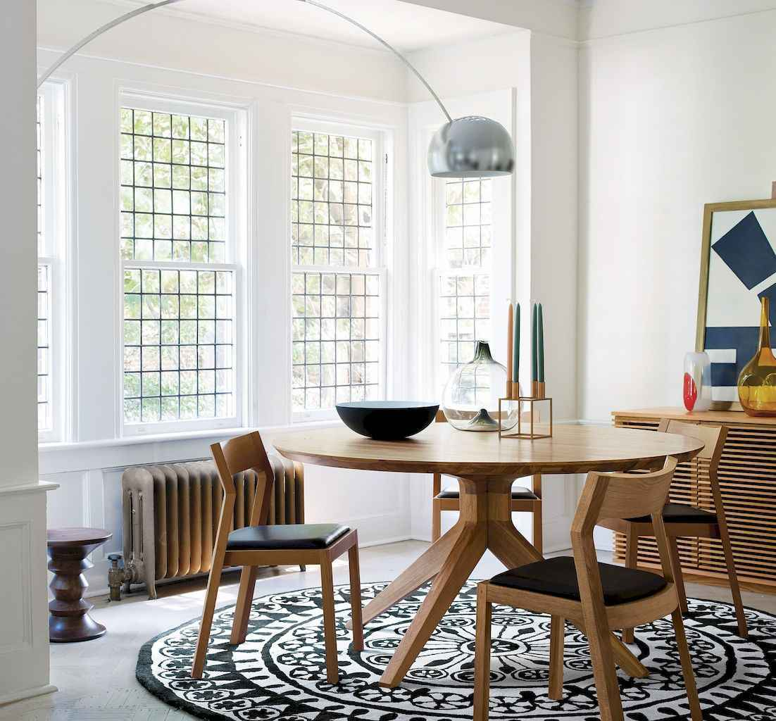 55 simple diy wooden dining table ideas that will inspire you (25)