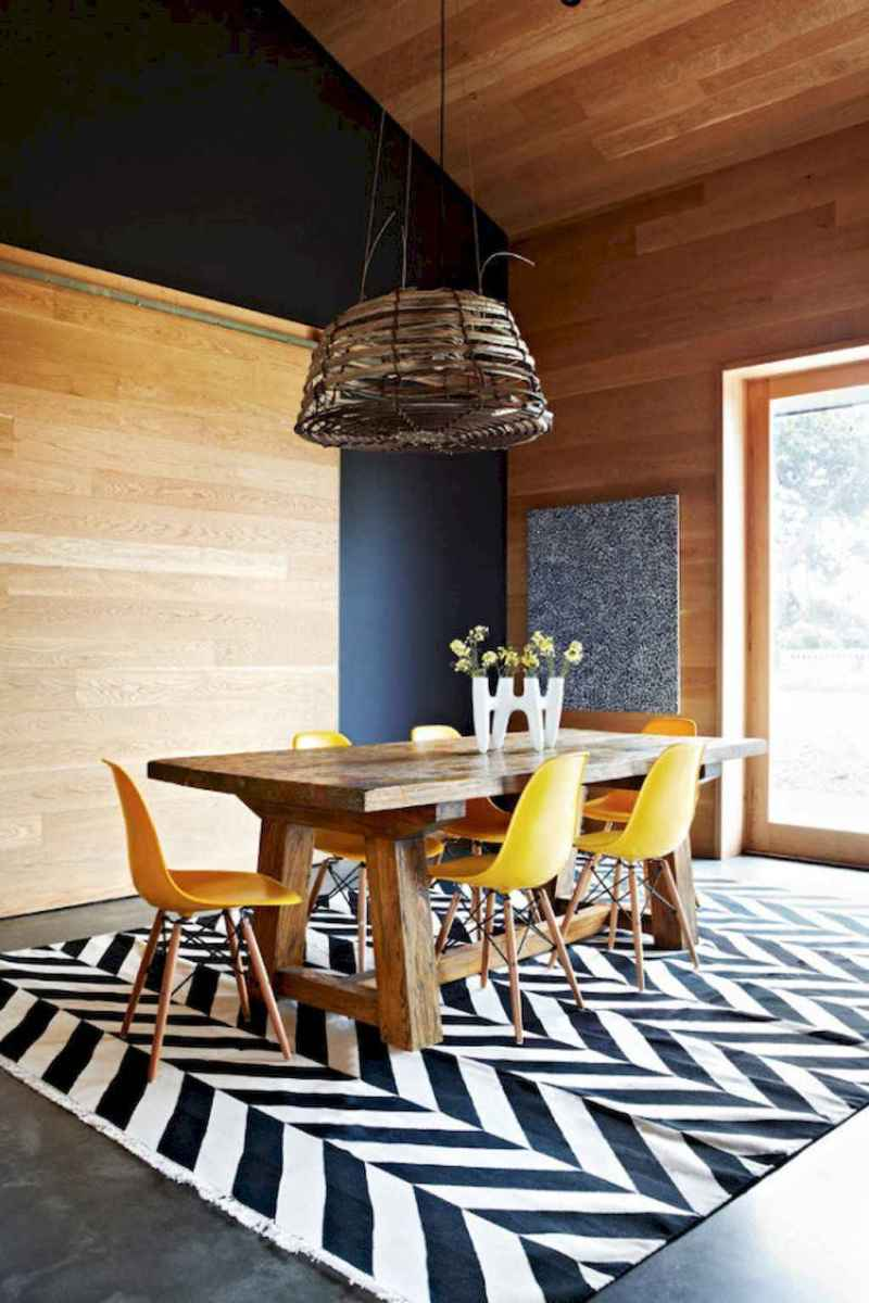55 simple diy wooden dining table ideas that will inspire you (31)