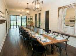 55 simple diy wooden dining table ideas that will inspire you (36)