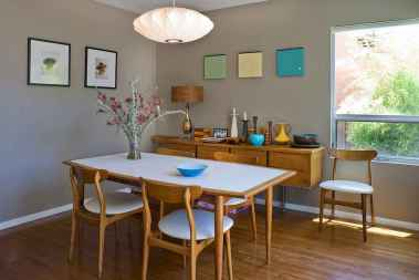 55 simple diy wooden dining table ideas that will inspire you (43)