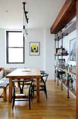 55 simple diy wooden dining table ideas that will inspire you (48)