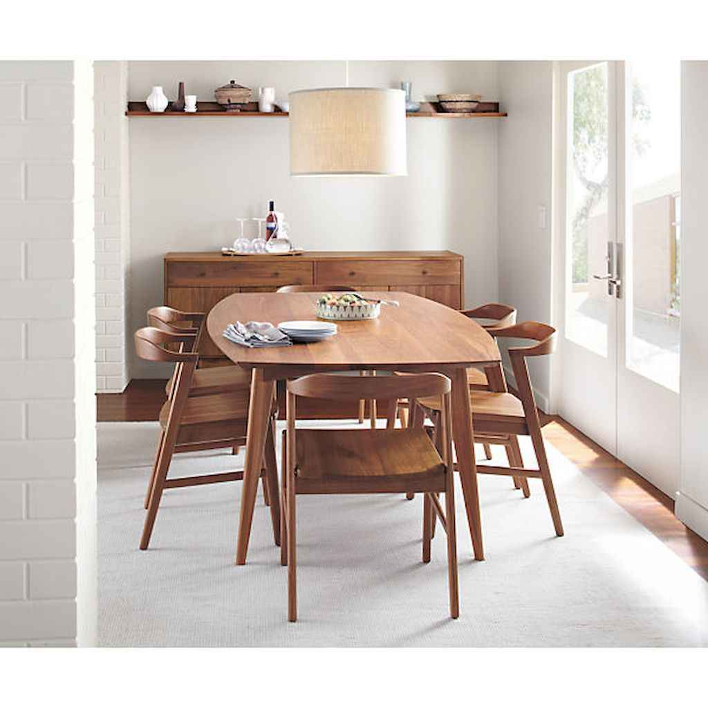 55 simple diy wooden dining table ideas that will inspire you (5)