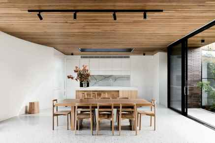 55 simple diy wooden dining table ideas that will inspire you (7)