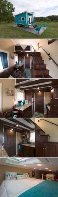 65 cute tiny house ideas & organization tips (12)