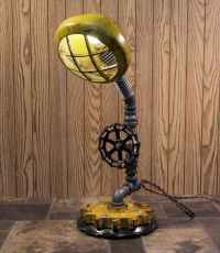 70 cheap diy industrial pipe lamps ideas to decor your home (36)