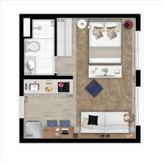 Best small apartment living room layout ideas (2)
