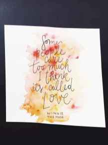 Best wall decoration canvas painting ideas with inspirational quotes (12)