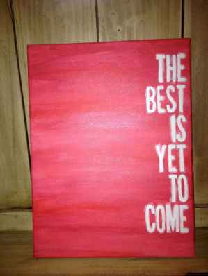 Best wall decoration canvas painting ideas with inspirational quotes (52)