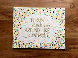 Best wall decoration canvas painting ideas with inspirational quotes (7)