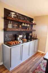 Diy home coffee bar ideas for coffee addict (13)