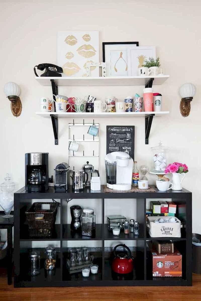 Diy home coffee bar ideas for coffee addict (23)
