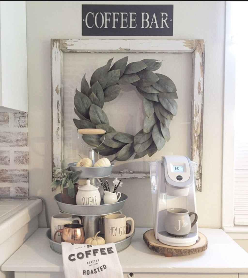 Diy home coffee bar ideas for coffee addict (27)