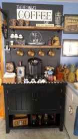 Diy home coffee bar ideas for coffee addict (28)