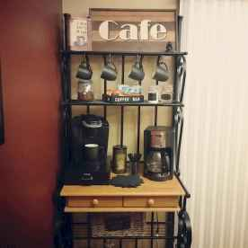 Diy home coffee bar ideas for coffee addict (29)