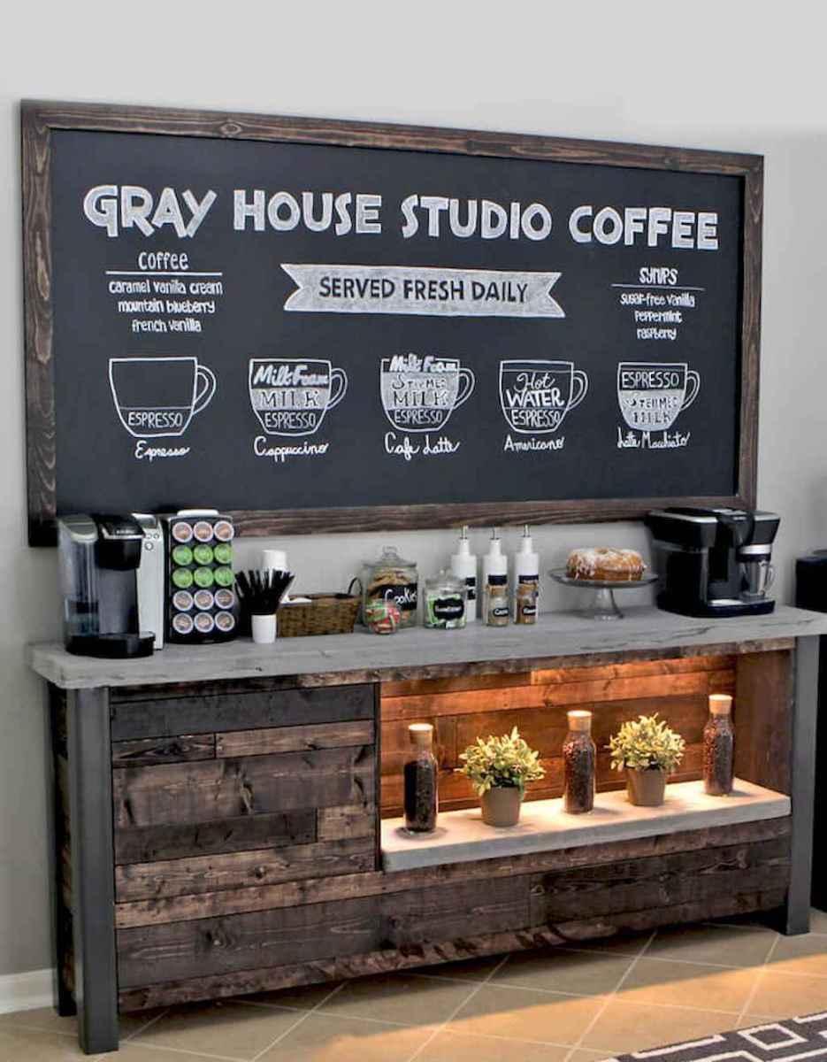 Diy home coffee bar ideas for coffee addict (6)