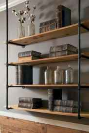 Easy diy pipe shelves ideas on a budget (21)