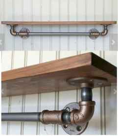 Easy diy pipe shelves ideas on a budget (22)
