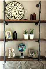 Easy diy pipe shelves ideas on a budget (27)
