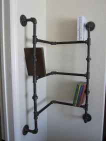 Easy diy pipe shelves ideas on a budget (56)